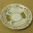 Wales Tea Saucer 4 3/4in Diameter x 3/4in H Multicolor Floral Vintage China