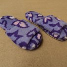 Designer Slippers Moccasins Polyester 100% Female Adult S/M Purples Solid
