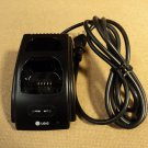 LGIC Dual Slot Handset Charging Base Black Cradle LGTC-300W