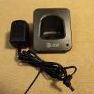 AT&T Handset Charging Base Dark Grey/Black Cradle