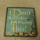 Encore Mini Plaque I Don