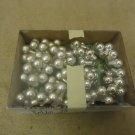 Designer Hanging Balls Decorative 1/2in Diameter Silver/Chrome Glass