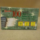 Michaels Stores Christmas Lights Clear 100ct 32ft Indoor Outdoor 253350