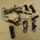 Standard Audio Video Cables Red/White/Yellow RCA Lot of 11 Composite
