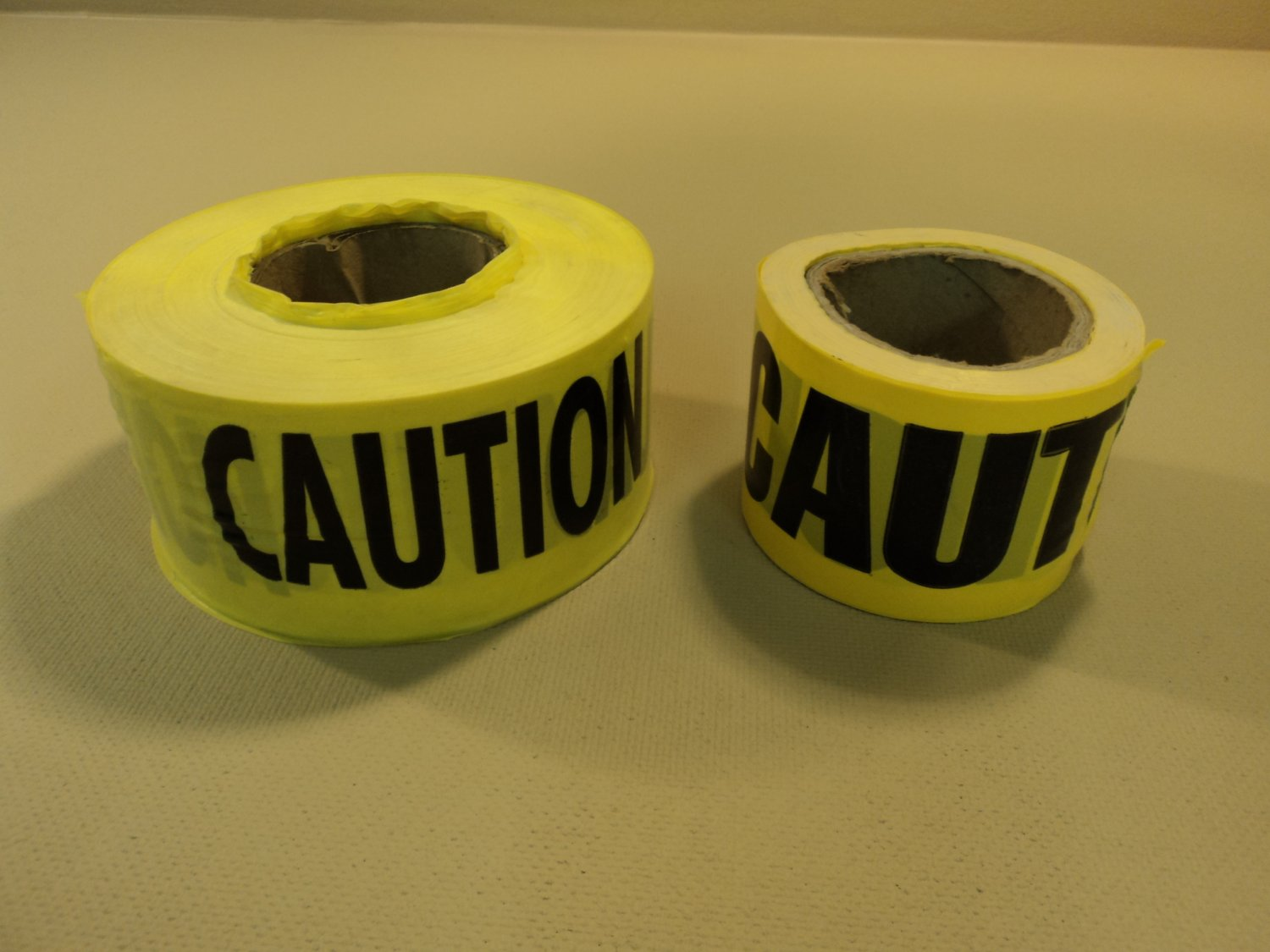 Standard Caution Tape 3-Inch Yellow/Black 2 Rolls