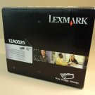 Lexmark High Yield Print Cartridge Black Optra Se 3455 Genuine OEM 12A0825