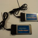 Standard USB2.0 Hi Speed CardBus Adaptor Lot of 2