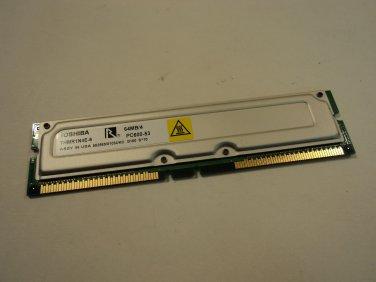 Toshiba RAM 600Mhz 256MB (64MB/4) THMR1NE-6 PC600-53