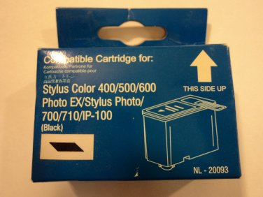 Compatible Ink Cartridge Black Epson Stylus 400/500/600 NL-20093