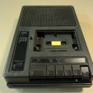 Bell & Howell Portable Cassette Player Black 120VAC 60Hz 9W 6DVC 3170A