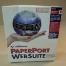 Visioneer PaperPort Websuite Windows 95 NT CD-ROM 90-0292-000