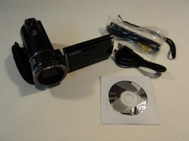 Cobra Digital Video Camera Camcorder 12MP Gray 4X Digital Zoom 3-in LCD DVC5590