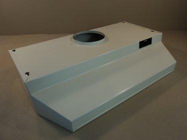 Nutone Range Hood Fan Shell Only 30 Inch Almond 75 Watt Light LL6300N