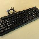 DCT Factory OG Deluxe Desktop Computer PS2 Keyboard Black PS/2 KBJ-006B