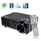 LED Multimedia Projector with HDMI, VGA, AV