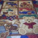 NEW OOAK TEDDY BEARS BABY /NURSERY CRIB SET 5-pc