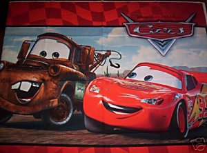 NEW DISNEY PIXAR CARS CRIB SET-- 5pc.
