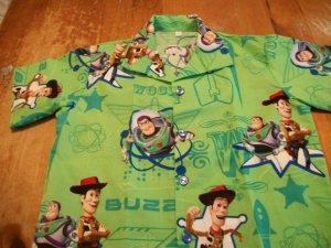 DISNEY'S TOY STORY  BOUTIQUE SHIRT SIZE 2, 3, 4, & 5 T