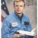 NASA Astronaut Roy Bridges Hand signed Autograph 8x10 color photo