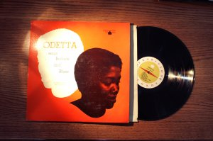 Odetta Sings Ballad and Blues Audiophile LP TJP1010