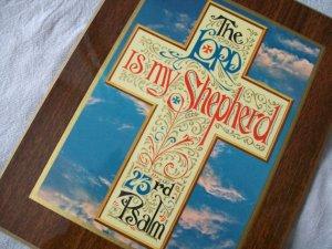 Vintage Religious Plaque