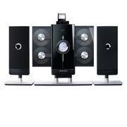 iLuv 4-CD Hi-Fi Audio System with iPod Docking Station - JWin I9200-BLK