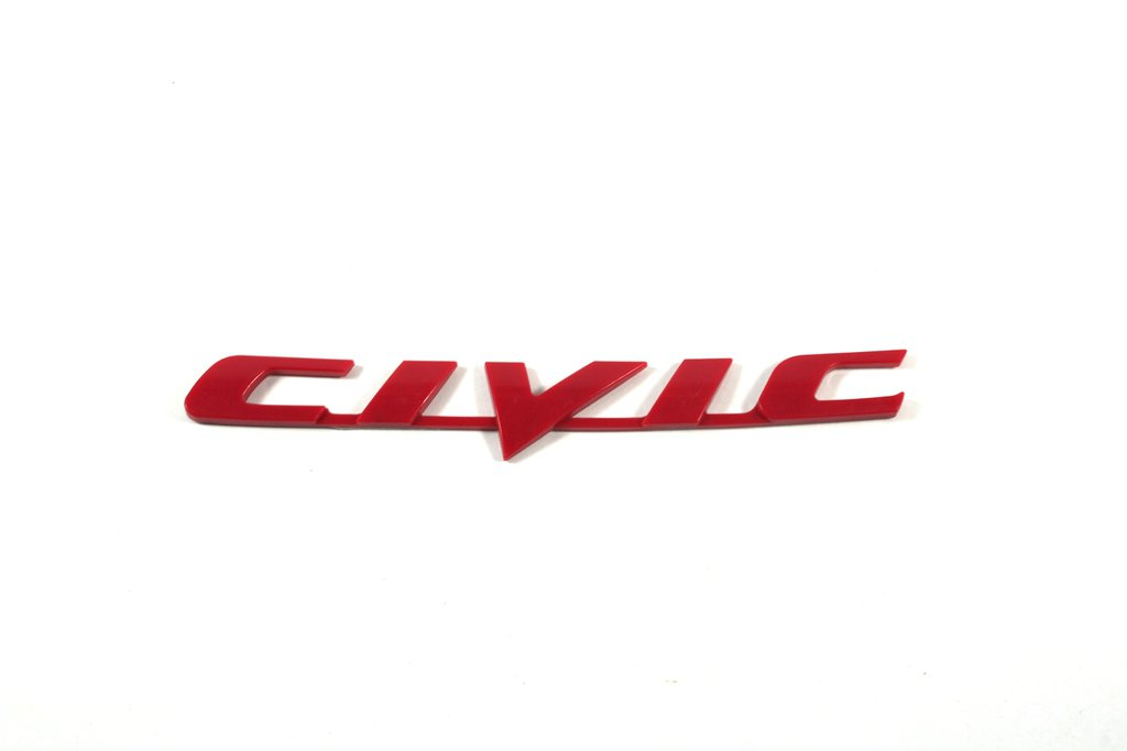 Honda Civic Emblem Logo Decal Sign Badge 3d Waterproof