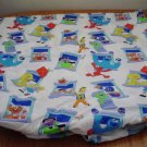 SESAME STREET TWIN FITTED BED SHEET KIDS BOYS