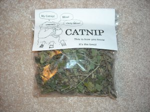 Fresh Catnip by the Bag