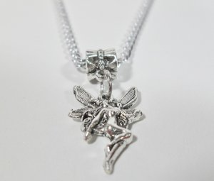Fairy Magical Pendant Necklace in silver