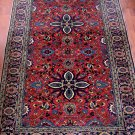 1940's famous Kayseri Turkish carpet rug 4x6