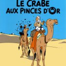 TINTIN & THE CRABE WITH GOLDEN CLAWS LARGE POSTER NEW LE CRABE AUX PINCES D'OR