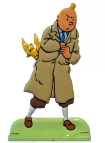 TINTIN FIGURINE FROM KING OTTOKARS SCEPTRE NEW