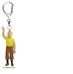 TINTIN WAVING PVC KEY RING NEW COLLECTION