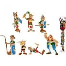 Figurine Tubo Asterix fight with 7 Mini-figurines set Plastoy