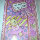 A Baby Girl Greeting Card By Pacific Graphics