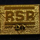 "VERY RARE Vintage RSR 20 Years ""1977 - 1997"" Hat Lapel Tie Tack Tac Badge Gun Pin"
