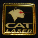 CAT Laser Hat Lapel Tie Tack Tac Badge Gun Pin