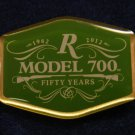 "Remington Model 700 ""50 Years"" 1962 - 2012 Hat Lapel Tie Tack Tac Badge Gun Pin"