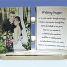 Personalized Photo Crystal Gift - Large Double Framed