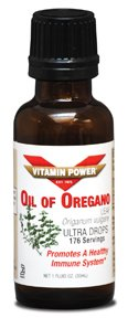 OIL OF OREGANO Ultra Drops Standardized (Origanum Vulgare)