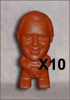 Gag Novelty Pee Pee Clay Figurine - x10 (20% Savings)