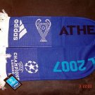 UEFA Champions League 2007 FINAL ORIGINAL SCARF BLUE