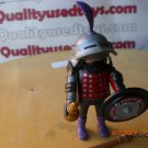 Playmobil 4567 Sir Polkadot Figure Flail Shield Helmet