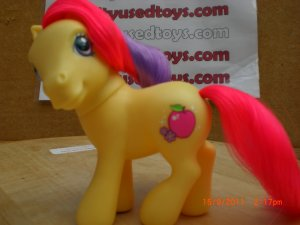 My Little Pony Apple Spice yellow body, bright red, light purple mane