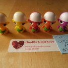 5a Gogo Crazy Bones Series 1 - Rare No 09 Umu family, 5 figures