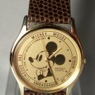 Disney Ambassador Mens Seiko Mickey Mouse Watch! Brand-new!