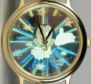 New Disney Womens Hologram Mickey Mouse Watch! Gorgeous!