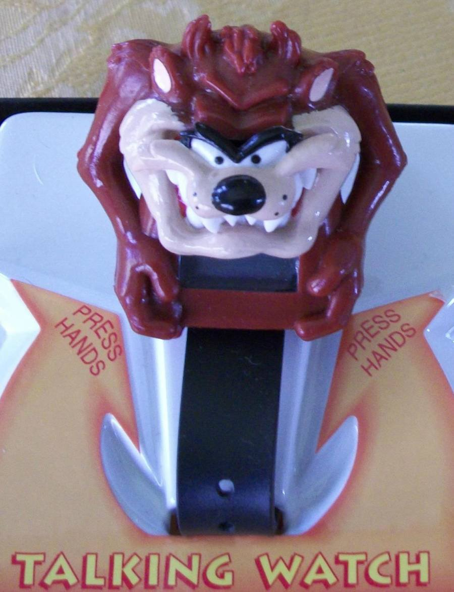 Brand-New Animated Armitron Tazmanian Devil Watch! His Mouth Moves! HTF!