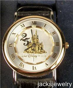 New Disney 25th Anniversary Disney Watch! Hard To Find!